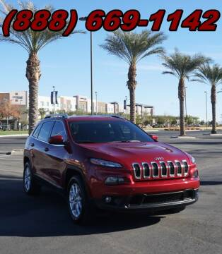 2015 Jeep Cherokee for sale at AZMotomania.com in Mesa AZ