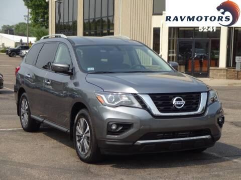 2020 Nissan Pathfinder for sale at RAVMOTORS 2 in Crystal MN
