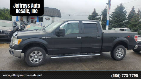 2010 Ford F-150 for sale at Jeffreys Auto Resale, Inc in Clinton Township MI