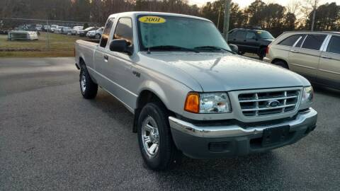 2001 Ford Ranger for sale at Kelly & Kelly Supermarket of Cars in Fayetteville NC
