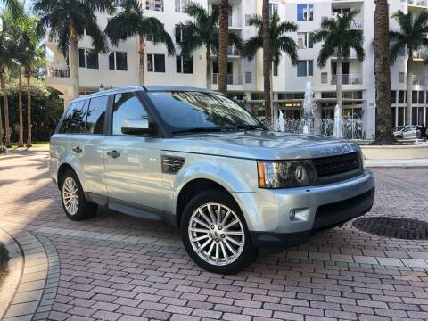 2011 Land Rover Range Rover Sport for sale at Florida Cool Cars in Fort Lauderdale FL