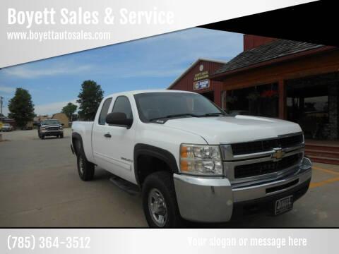 2009 Chevrolet Silverado 2500HD for sale at Boyett Sales & Service in Holton KS