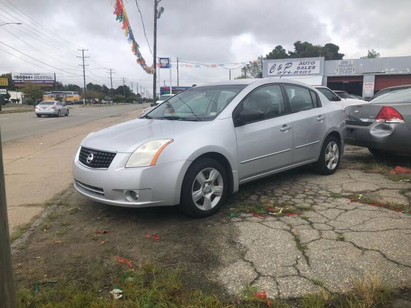2008 Nissan Sentra for sale at AFFORDABLE USED CARS in Richmond VA