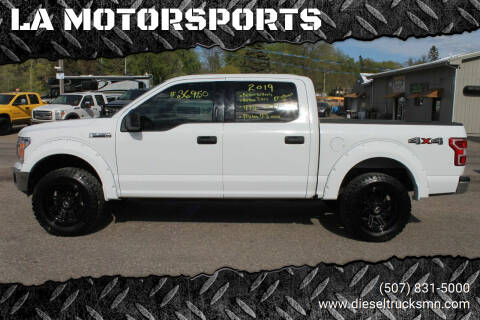 2019 Ford F-150 for sale at LA MOTORSPORTS in Windom MN