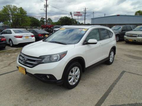 2014 Honda CR-V for sale at BAS MOTORS in Houston TX