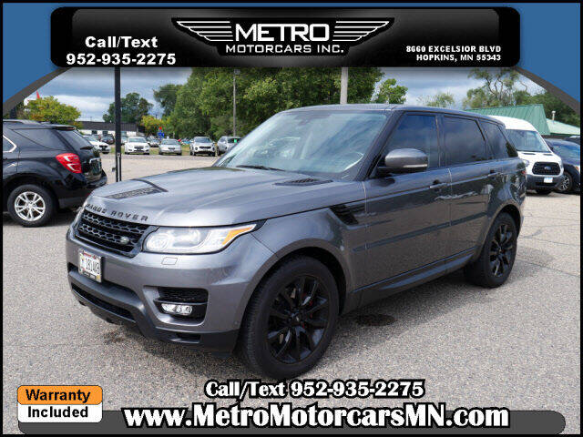 2015 Land Rover Range Rover Sport for sale at Metro Motorcars Inc in Hopkins MN