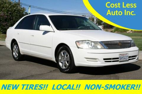 2000 Toyota Avalon for sale at Cost Less Auto Inc. in Rocklin CA
