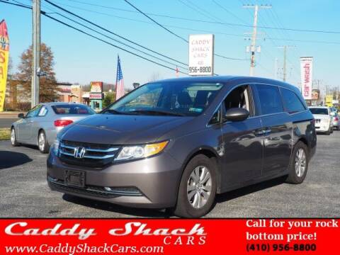 2016 Honda Odyssey for sale at CADDY SHACK CARS in Edgewater MD