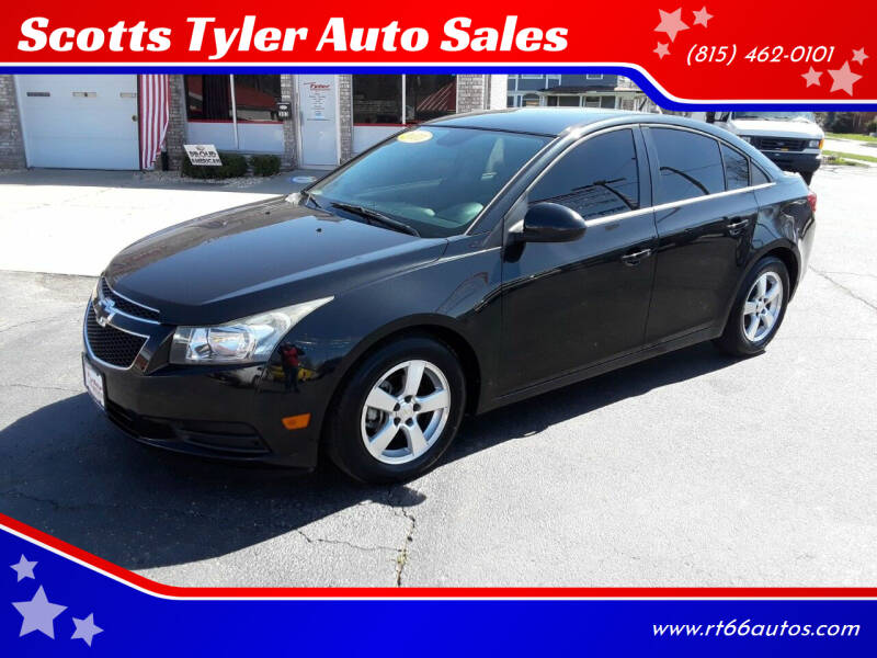 2013 Chevrolet Cruze for sale at Scotts Tyler Auto Sales in Wilmington IL