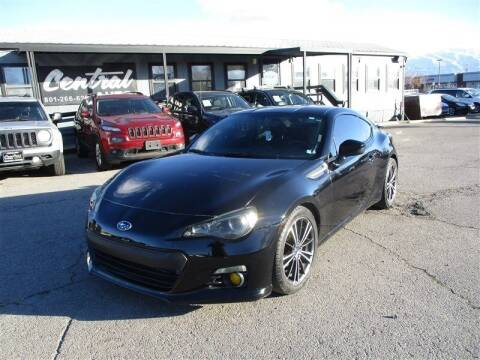 2013 Subaru BRZ for sale at Central Auto in South Salt Lake UT