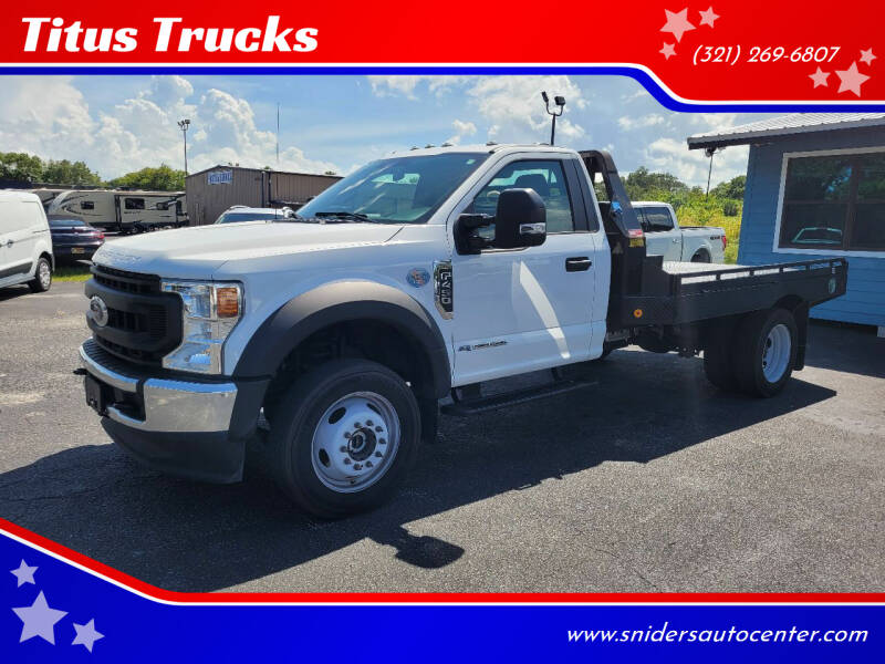 2020 Ford F-450 Super Duty for sale at Titus Trucks in Titusville FL