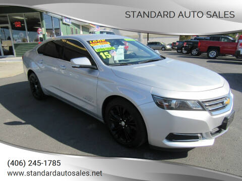 2015 Chevrolet Impala for sale at Standard Auto Sales in Billings MT