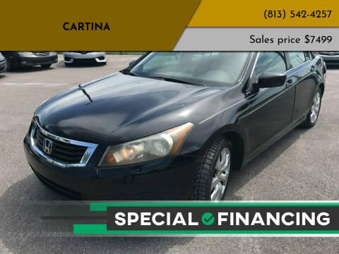 2008 Honda Accord for sale at Cartina in Tampa FL