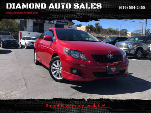 2010 Toyota Corolla for sale at DIAMOND AUTO SALES in El Cajon CA