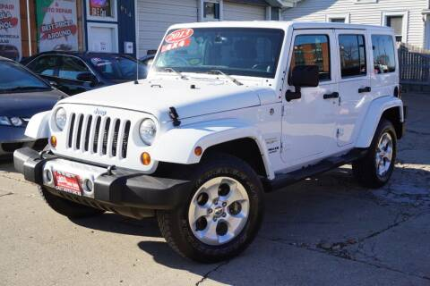 2013 Jeep Wrangler Unlimited for sale at Cass Auto Sales Inc in Joliet IL