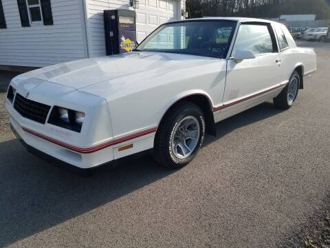 1987 Chevrolet Monte Carlo for sale at STARRY'S AUTO SALES in New Alexandria PA