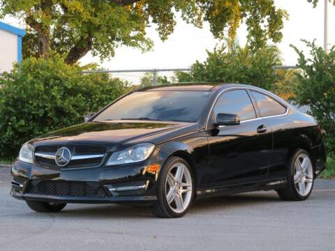 2013 Mercedes-Benz C-Class for sale at DK Auto Sales in Hollywood FL