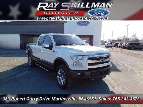 2016 Ford F-150 for sale at Ray Skillman Hoosier Ford in Martinsville IN