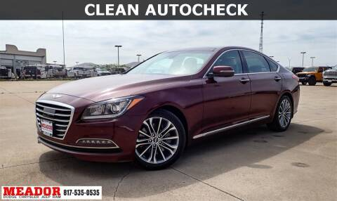 2016 Hyundai Genesis for sale at Meador Dodge Chrysler Jeep RAM in Fort Worth TX