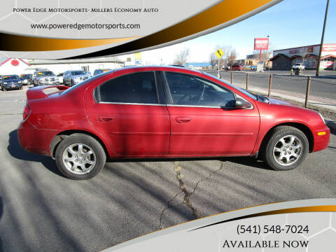 2005 Dodge Neon for sale at Power Edge Motorsports- Millers Economy Auto in Redmond OR