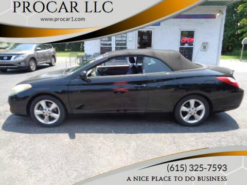 2006 Toyota Camry Solara for sale at PROCAR LLC in Portland TN