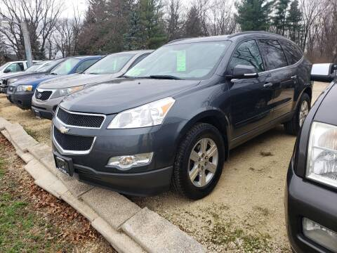 2010 Chevrolet Traverse for sale at Northwoods Auto & Truck Sales in Machesney Park IL
