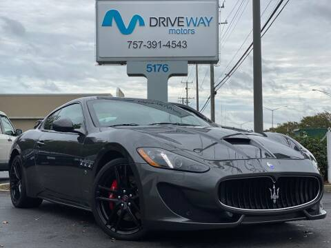 2017 Maserati GranTurismo for sale at Driveway Motors in Virginia Beach VA