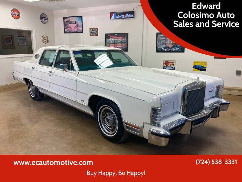 1979 Lincoln Town Car for sale in Evans City, PA