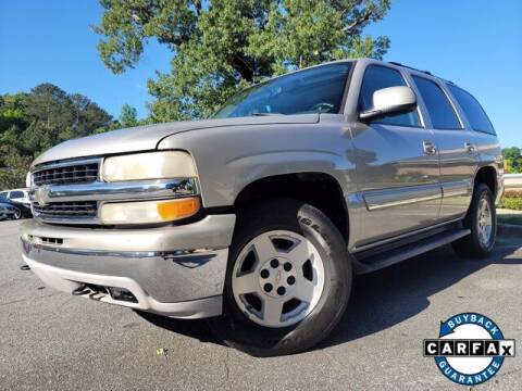 2005 Chevrolet Tahoe for sale at Carma Auto Group in Duluth GA