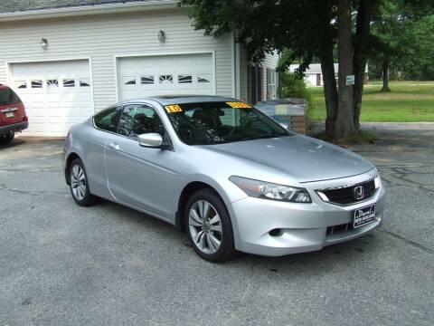 2010 Honda Accord for sale at DUVAL AUTO SALES in Turner ME