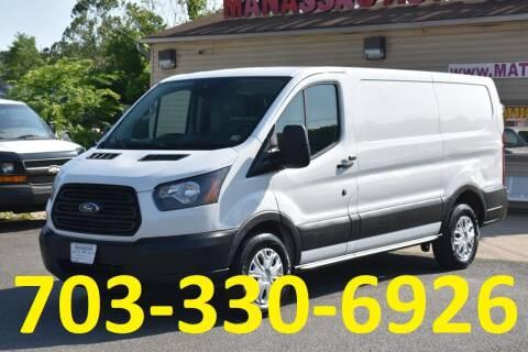 2017 Ford Transit Cargo for sale at MANASSAS AUTO TRUCK in Manassas VA