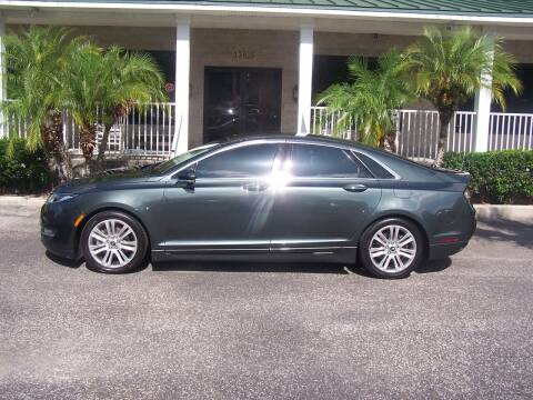 2016 Lincoln MKZ for sale at Thomas Auto Mart Inc in Dade City FL