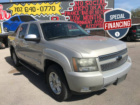 2007 Chevrolet Avalanche for sale at Rock Star Auto Sales in Las Vegas NV
