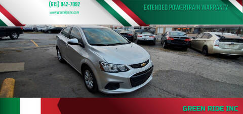 2018 Chevrolet Sonic for sale at Green Ride Inc in Nashville TN