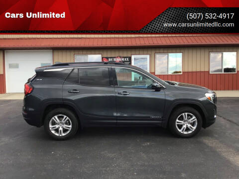 2018 GMC Terrain for sale at Cars Unlimited in Marshall MN