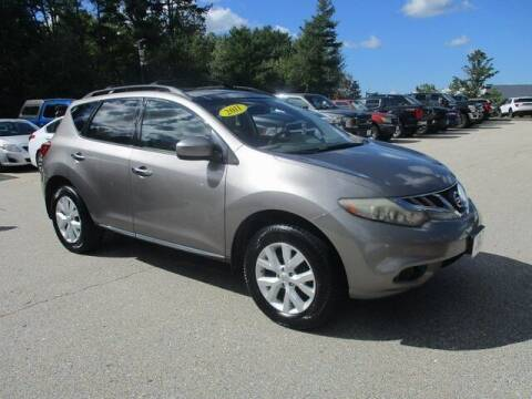 2011 Nissan Murano for sale at MC FARLAND FORD in Exeter NH
