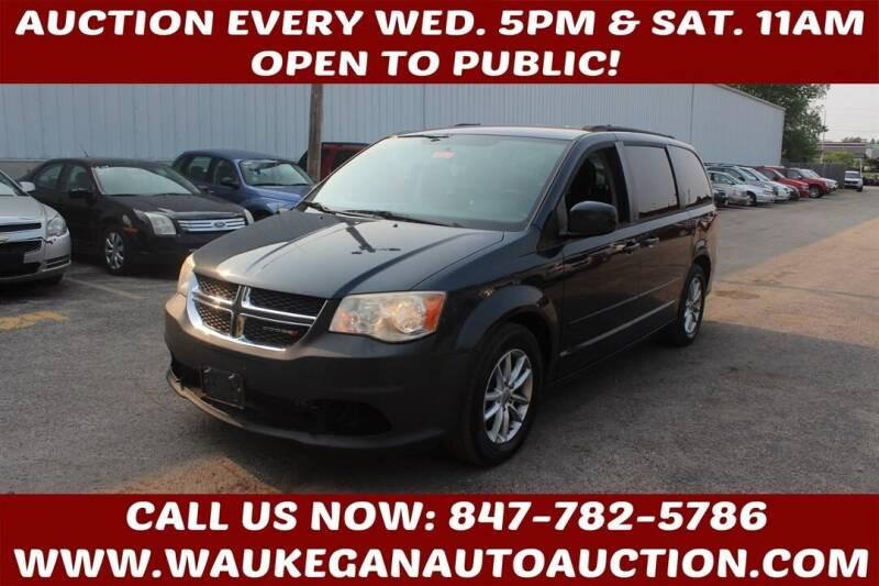 2014 Dodge Grand Caravan for sale at Waukegan Auto Auction in Waukegan IL
