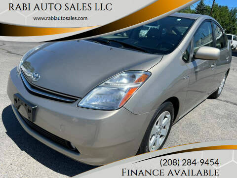 2007 Toyota Prius for sale at RABI AUTO SALES LLC in Garden City ID