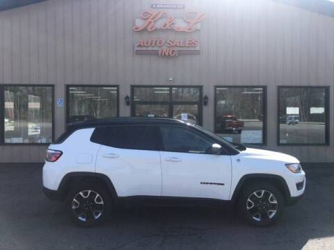 2018 Jeep Compass for sale at K & L AUTO SALES, INC in Mill Hall PA