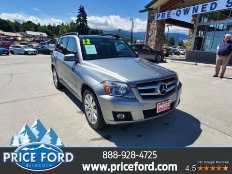 2012 Mercedes-Benz GLK for sale at Price Ford Lincoln in Port Angeles WA