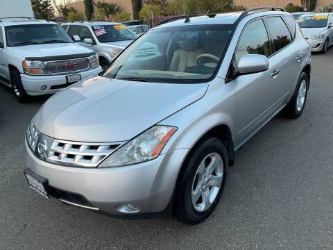2003 Nissan Murano for sale at C. H. Auto Sales in Citrus Heights CA