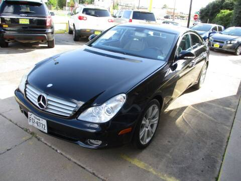 2008 Mercedes-Benz CLS for sale at Metroplex Motors Inc. in Houston TX