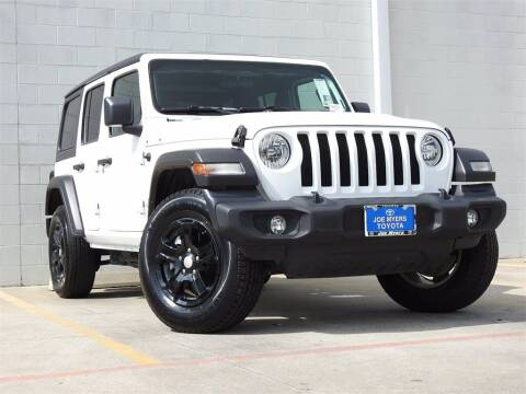 2019 Jeep Wrangler Unlimited for sale at Joe Myers Toyota PreOwned in Houston TX