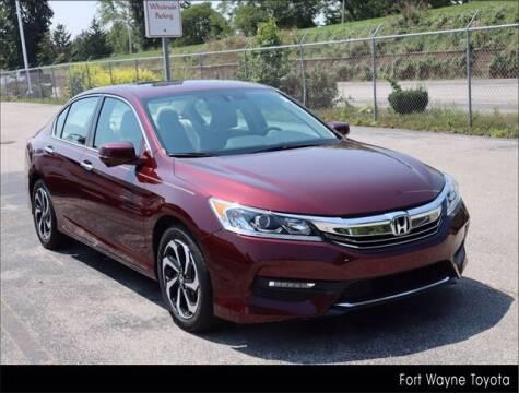 2017 Honda Accord for sale at BOB ROHRMAN FORT WAYNE TOYOTA in Fort Wayne IN