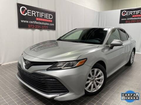 2018 Toyota Camry for sale at CERTIFIED AUTOPLEX INC in Dallas TX