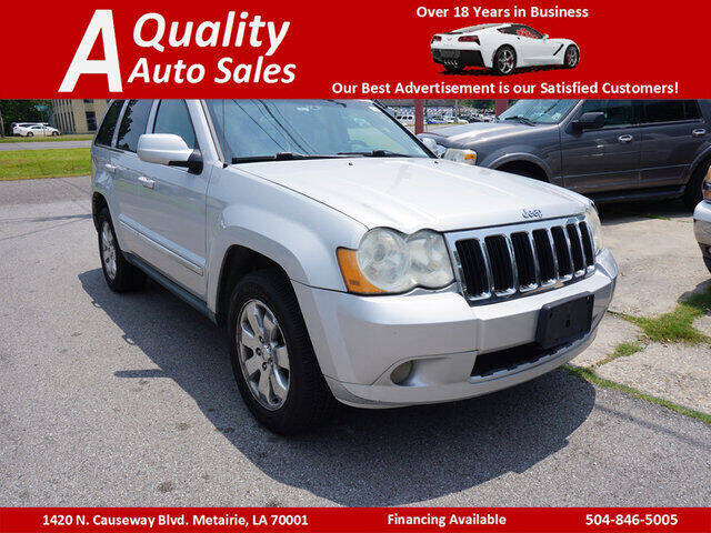 2008 Jeep Grand Cherokee for sale at A Quality Auto Sales in Metairie LA