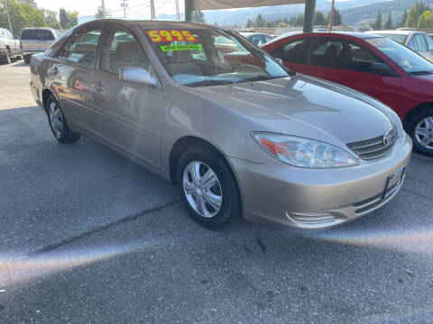 2002 Toyota Camry for sale at Low Auto Sales in Sedro Woolley WA
