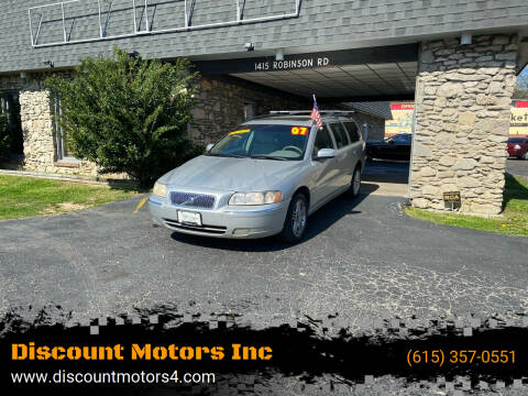2007 Volvo V70 for sale at Discount Motors Inc in Old Hickory TN