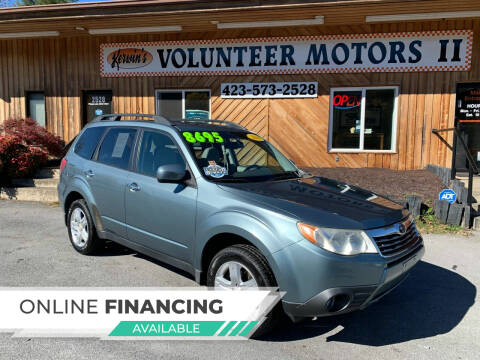 2010 Subaru Forester for sale at Kerwin's Volunteer Motors in Bristol TN