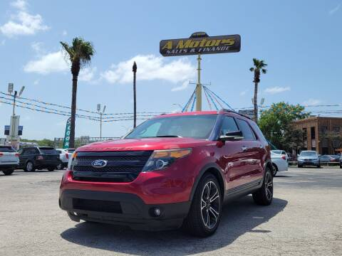 2014 Ford Explorer for sale at A MOTORS SALES AND FINANCE - 5630 San Pedro Ave in San Antonio TX